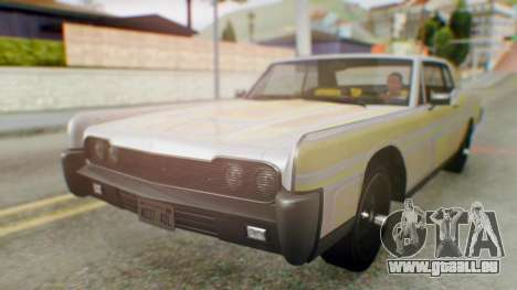 GTA 5 Vapid Chino Tunable für GTA San Andreas Seitenansicht