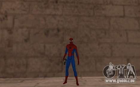 Amazing Spider-Man Version Comique par Robinosuk pour GTA San Andreas troisième écran