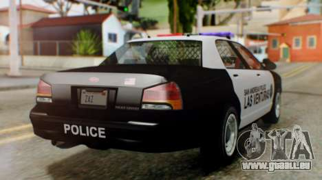 GTA 5 Police LV für GTA San Andreas linke Ansicht