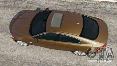 GTA 5 Jaguar XFR 2010 Rückansicht