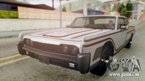 GTA 5 Vapid Chino Tunable pour GTA San Andreas moteur