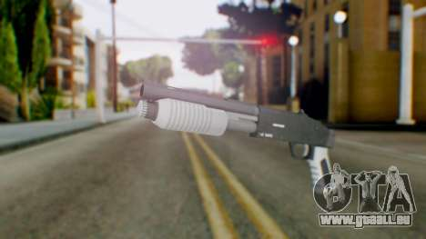 GTA 5 Sawed-Off Shotgun - Misterix 4 Weapons pour GTA San Andreas