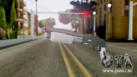 GTA 5 Sawed-Off Shotgun - Misterix 4 Weapons für GTA San Andreas