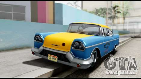 GTA 5 Declasse Cabbie v2 für GTA San Andreas rechten Ansicht