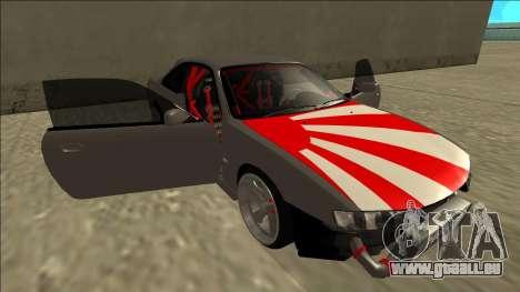 Nissan Silvia S14 Drift JDM pour GTA San Andreas moteur