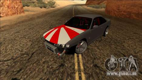 Nissan Silvia S14 Drift JDM pour GTA San Andreas vue arrière