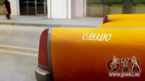 GTA 5 Vapid Chino Tunable pour GTA San Andreas vue arrière