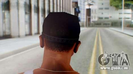 Mafia Cap Black White pour GTA San Andreas troisième écran