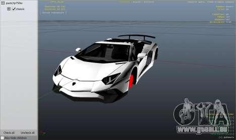 2016 Lamborghini Aventador LP750-4 Superveloce pour GTA 5