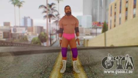 WWE Damien Sandow 2 pour GTA San Andreas deuxième écran