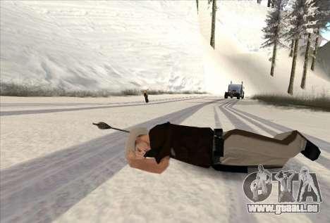 Bogenschießen für GTA San Andreas her Screenshot