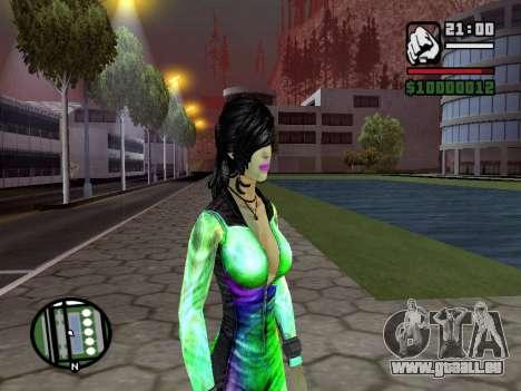 Christie Doa Changed v1.0 pour GTA San Andreas