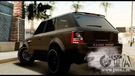 Range Rover Sport 2012 für GTA San Andreas linke Ansicht