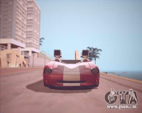 Banshee Twin Mill III Hot Wheels v1.0 pour GTA San Andreas laissé vue