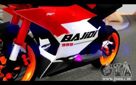 Bajidi 1R für GTA San Andreas Rückansicht