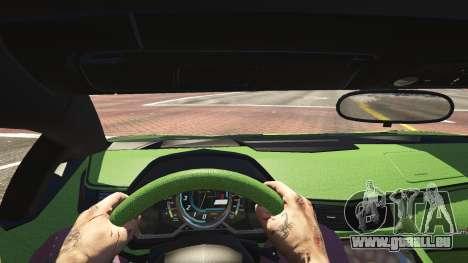 GTA 5 Lamborghini Aventador LP700-4 v.2.2 vue arrière