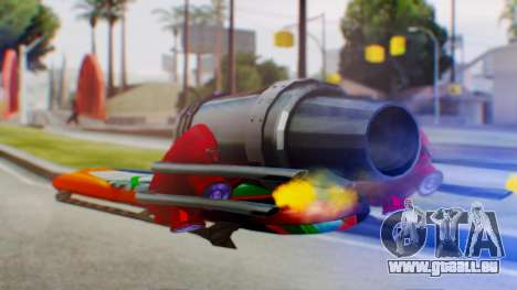 Flying Hovercraft New Skin pour GTA San Andreas laissé vue