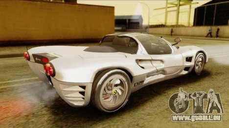 Ferrari P7 Spyder pour GTA San Andreas sur la vue arrière gauche