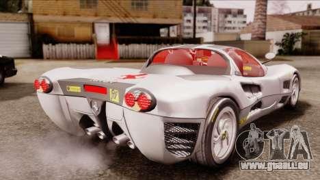 Ferrari P7 Horse für GTA San Andreas linke Ansicht