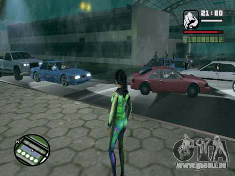 Christie Doa Changed v1.0 pour GTA San Andreas deuxième écran