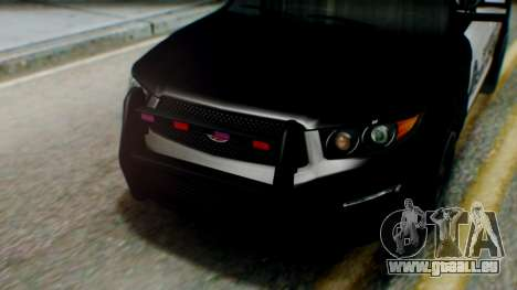 GTA 5 Police SF pour GTA San Andreas vue de droite