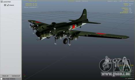 GTA 5 Boeing B-17 Flying Fortress sechster Screenshot