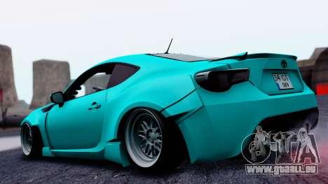 Toyota GT86 Rocket Bunny für GTA San Andreas linke Ansicht