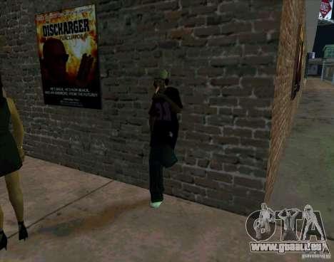 Tout sur le cinéma pour GTA San Andreas cinquième écran