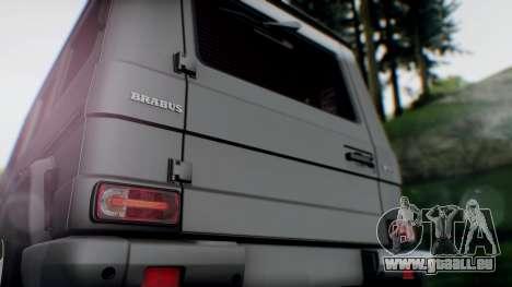 Brabus B55 für GTA San Andreas Rückansicht