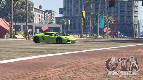 GTA 5 Lamborghini Aventador LP700-4 v.2.2 volant