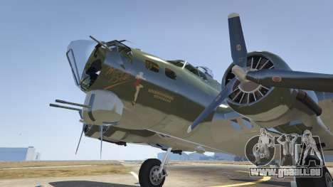 GTA 5 Boeing B-17 Flying Fortress fünfter Screenshot