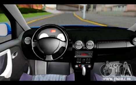 Renault Sandero für GTA San Andreas rechten Ansicht