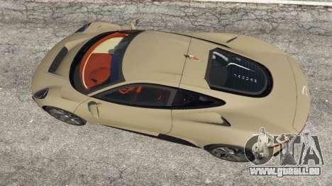 GTA 5 Jaguar C-X75 vue arrière