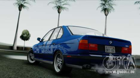 BMW M5 E34 US-spec 1994 (Full Tunable) für GTA San Andreas