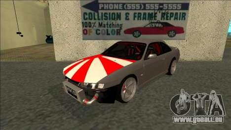 Nissan Silvia S14 Drift JDM für GTA San Andreas