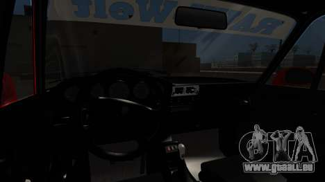 Porsche 993 GT2 RWB Rough Rhythm pour GTA San Andreas sur la vue arrière gauche