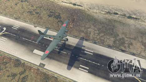 GTA 5 Boeing B-17 Flying Fortress vierten Screenshot