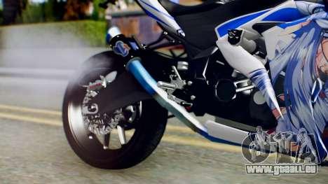 Yamaha YZF R-25 Kos-Mos Xenosaga Itasha 2014 pour GTA San Andreas vue de droite