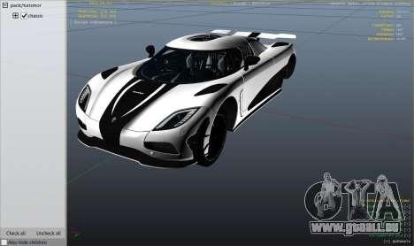 2014 Koenigsegg Agera R v1.0 für GTA 5