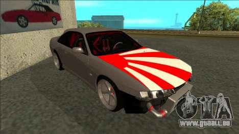 Nissan Silvia S14 Drift JDM pour GTA San Andreas laissé vue