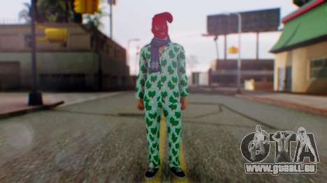 GTA Online Festive Surprise Skin 4 für GTA San Andreas zweiten Screenshot