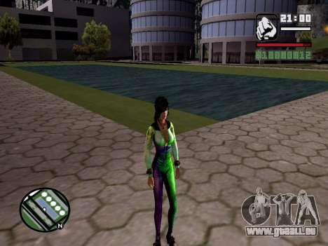 Christie Doa Changed v1.0 pour GTA San Andreas troisième écran