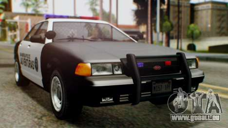 GTA 5 Police LV pour GTA San Andreas