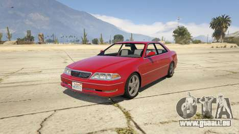 Toyota Mark II JZX100 Tunable für GTA 5
