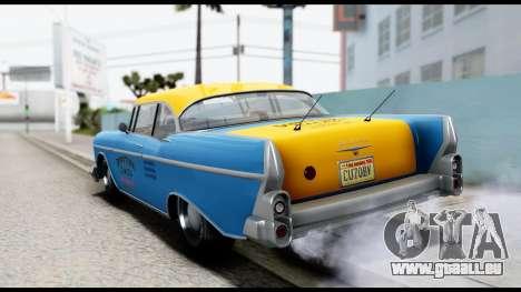 GTA 5 Declasse Cabbie v2 pour GTA San Andreas laissé vue