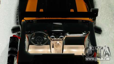 Jeep Wrangler Off Road pour GTA San Andreas vue de droite