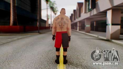 Brock Lesnar für GTA San Andreas dritten Screenshot