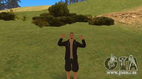 Parler comme un gangster pour GTA San Andreas troisième écran