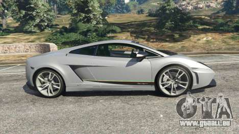 Lamborghini Gallardo LP570-4 Superleggera 2011 für GTA 5