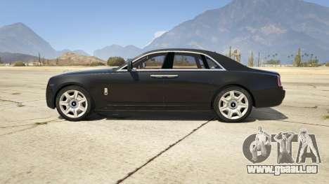 GTA 5 Rolls Royce Ghost 2014 vue latérale gauche
